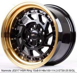 Velg HSR Namrole R15x8-9 H8x100-114,3