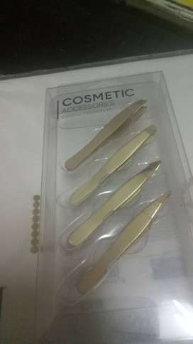 Pack of 4 tweezers (hair removal) Japanese (imported) japanese