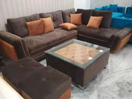 Floor L shape sofa