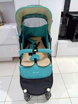 Stroller Cocolatte Swift Stroler Bayi Kereta Dorong Anak Bayi