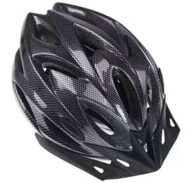 Helm sepeda black karbon keren