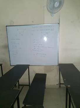 Five white board available