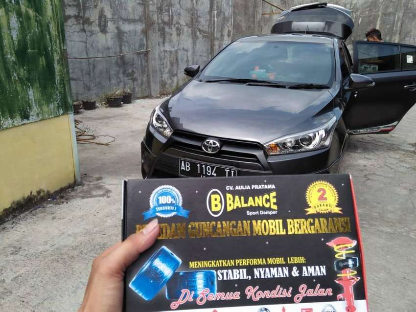 Mobil Aman dr Limbung berkat DAMPER BALANCE, yuk pasang SEKARANG juga 0