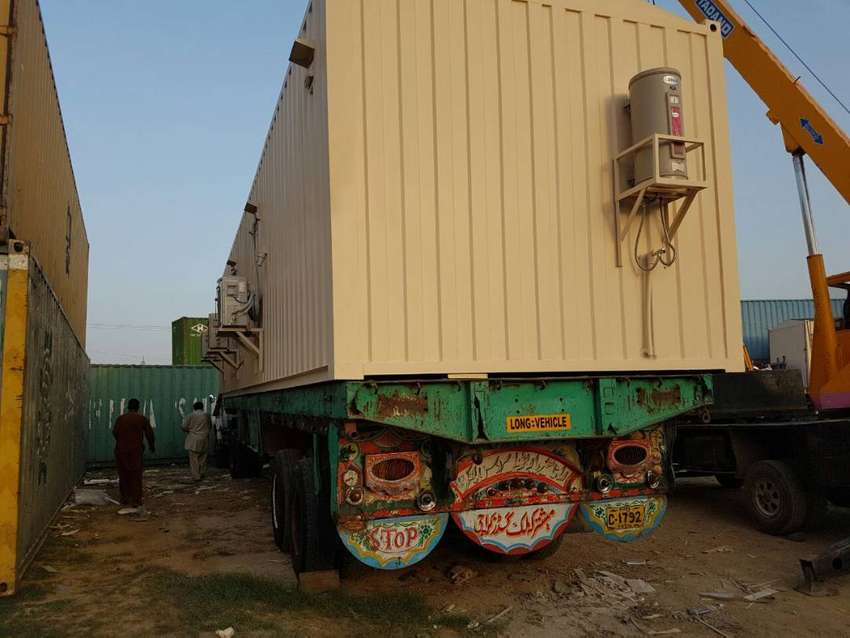 Prefab Structure container mobile toilets porta cabin in Islamabad 0