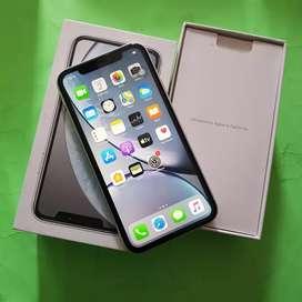 Iphone XR 64gb white dual sim exs inter original