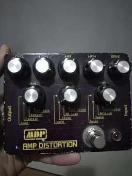 Efek gitar distorsi mdp amp distrosi (cloningan san amp 21 tech)