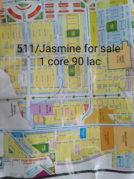 344/Jasmine Plot Is Available For Sale In bahria Town Lahore
