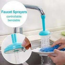 Kitchen Faucet Plastic Adjustable Tap, For Wash Basin