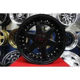 Velg Racing Mobil Agya Mobilio Brio Jazz Avanza HSR Ring 16 Lebar 8/9