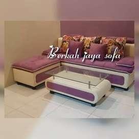 Sofa selonjor minimalis puff