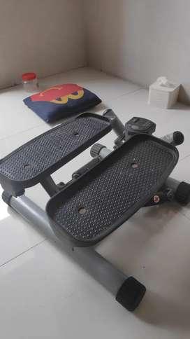 mesin alat jalan kaki incline mendaki portable kettler