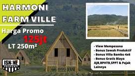 Dijual Tanah Murah Kavling Wisata Harmoni Farm Ville