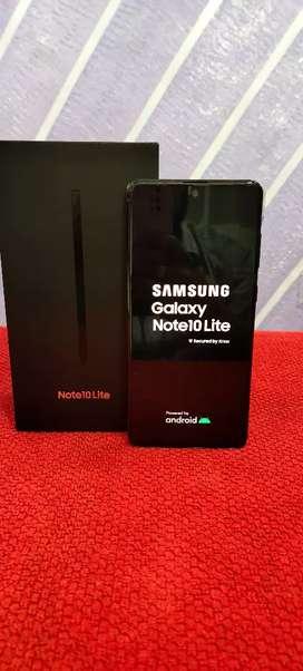 Samsung Note10 lite 7 days old 8/128gb