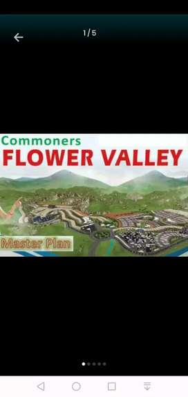 Iam selling 1 kanal plot in DHA Commners sky Garden Flower Valley.