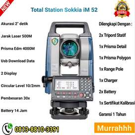 Ready Peralatan Survey Total Station Sokkia iM 52 Baru
