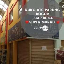 Dijual Ruko ATC  Lokasi Hoek Murah Cocok utk Aneka Bisnis Parung Bogor
