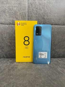 Realme 8 5g 4/64gb blue colour