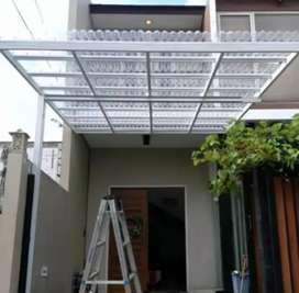 Kami bengkel las nerimah pemasangan kanopi atap solartap $$1774