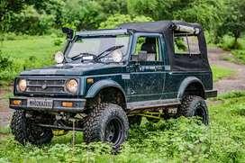 2000 Maruti Suzuki Gypsy King 4x4 Full Offroad Ready
