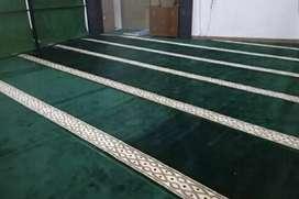 Terlaris karpet masjid tipe minimalis plus pasang Garut