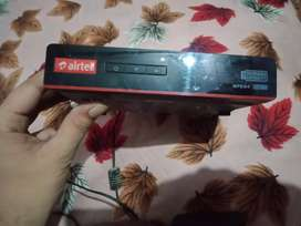 Airtel set top box with recording compatibility
