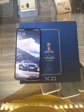 Vivo x21 first display fingerprint 8gb 128gb