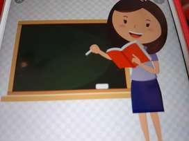 Experienced teacher-maths English science-1-5classes