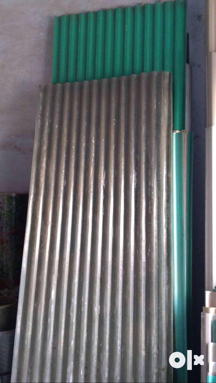 Fibre and PVC Patra at Rs 10/- Sq.Ft. in Vadodara 0