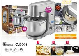 Low Noise Professional 10L Dough Maker 3 in 1 Stand Food Mixer