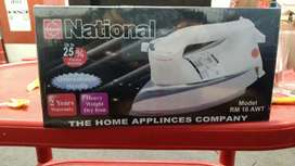 National iron model no RM 16 AMT warranty 2 years