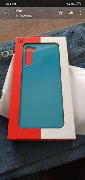One plus nord back cover blue color