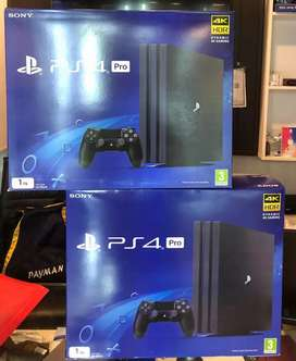 PS4 Pro 4K Gaming machine 1 year warranty