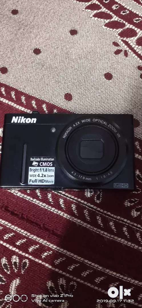 Camera nikon CMOS 1.8 lens low light photography 0