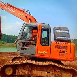 Excavator hitachi zaxis 110f th 2011