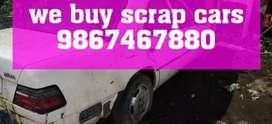 We buy old scrap cars