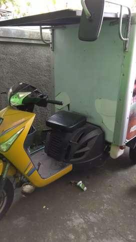 Jual motor viar box alumunium