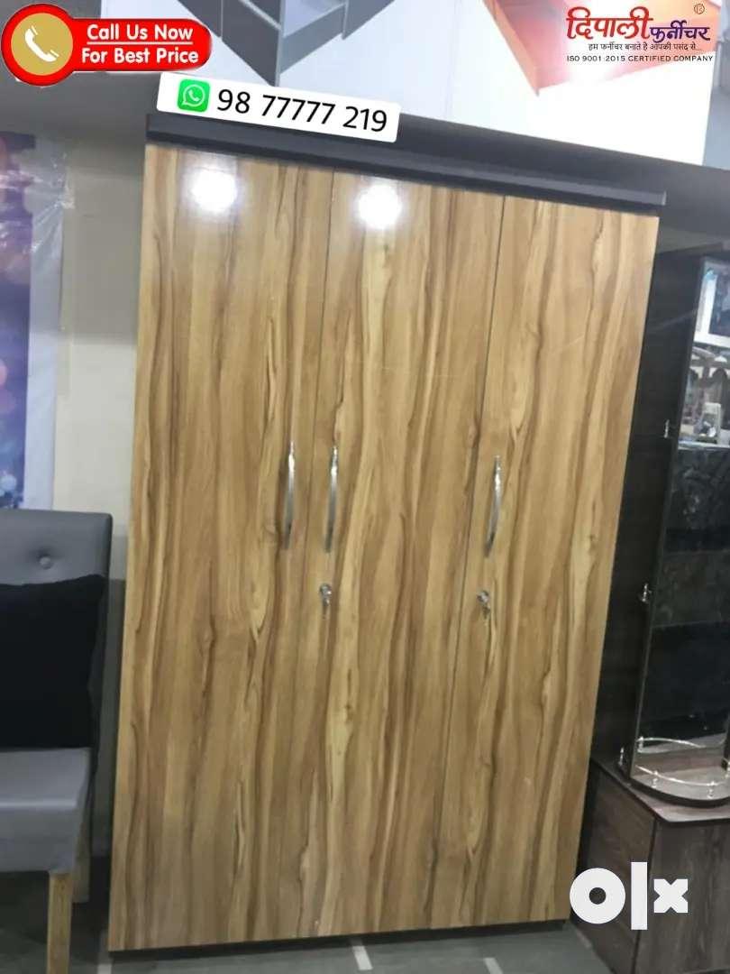 3 door new Almari 5 year warranty