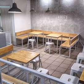Interior kafe semarang