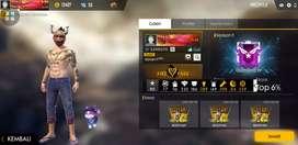 Akun freefire bundle s1