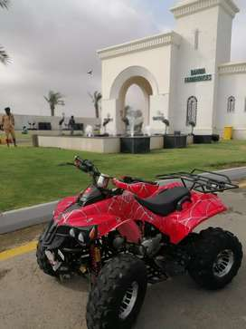 Atv red spider in mint condition 124cc