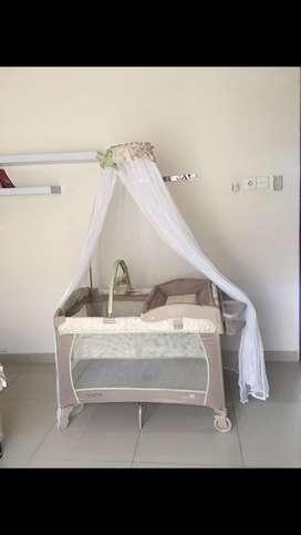 Baby Box CocoLatte  BNS Deluxe/tempat tidur bayi
