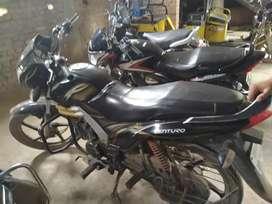 Mahindra bike mst milage 90km .