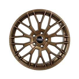 Velg Mobil Toyota Rush - HSR Anemon H308 Ring18 Semi Matte Bronze