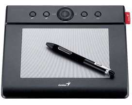 GeniusM406 4 x 6 Inches Graphic Tablet with Battery-Free Cordless Pen