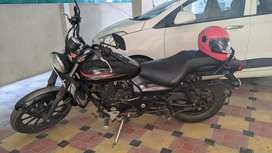 AVENGER 220 Street, Single handed rides only 16 kms day