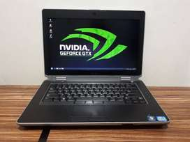 Laptop Dell Latitude E6430 i7-3740QM RAM 4GB HDD 500GB Dual VGA
