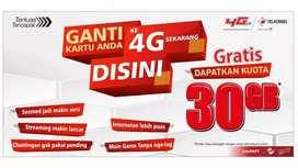 Melayani Upgrede Kartu Telkomsel 3G ke 4G