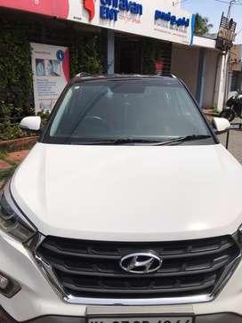 Hyundai Creta /1.6SX/Dual Tone/2018 Sep/35000km