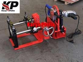 mesin las pipa hdpe tipe manual dan tipe hydraulic