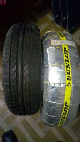 brand new 2 dunlop tyres 185/65r14
